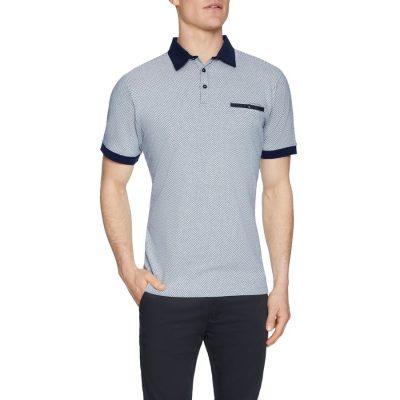 Fashion 4 Men - Tarocash Tropez Textured Polo White Xxl