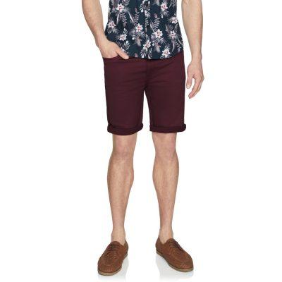 Fashion 4 Men - Tarocash Ulto Slim Short Berry 33