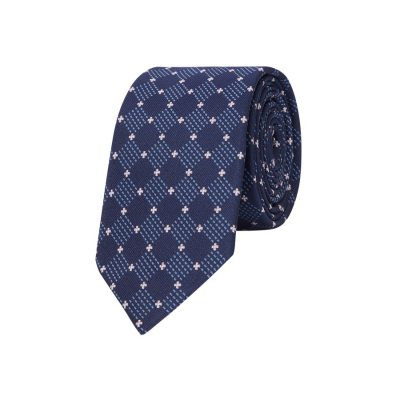 Fashion 4 Men - yd. Alexander 6.5 Cm Tie Blue One