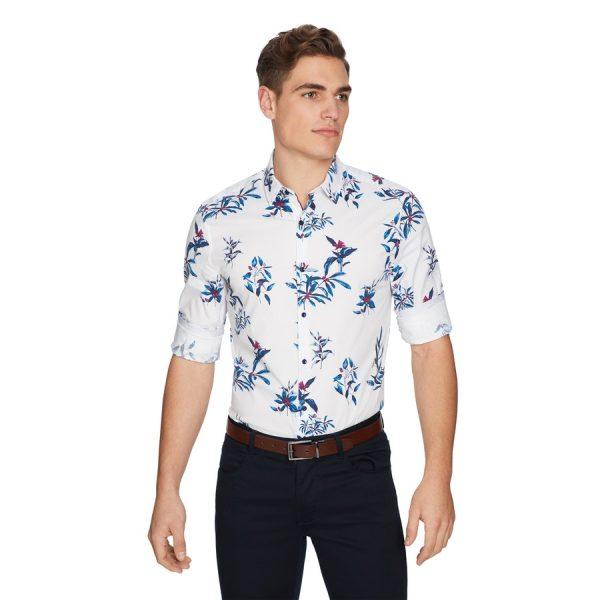 Fashion 4 Men - yd. Bahama Slim Shirt White Xxxl