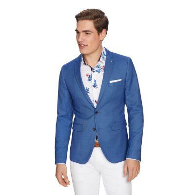 Fashion 4 Men - yd. Becks Blazer Cobalt Xs