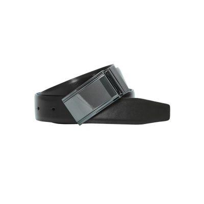 Fashion 4 Men - yd. Burton Reversible Belt Black/Chocolate 42