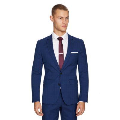 Fashion 4 Men - yd. Davis Slim Fit Suit Jacket Dark Blue 40