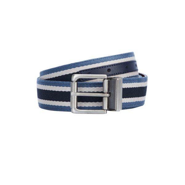 Fashion 4 Men - yd. Ellington Reversible Belt Blue/Tan 36