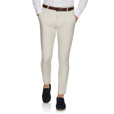 Fashion 4 Men - yd. Flyer Stretch Skinny Chino Sand 32