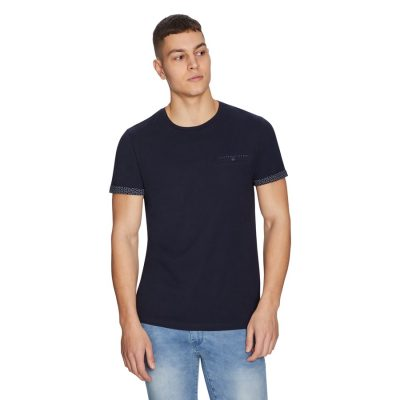 Fashion 4 Men - yd. Freeman Tee Navy 2 Xs