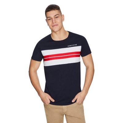 Fashion 4 Men - yd. Moretti Tee Navy S