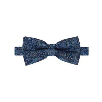 Fashion 4 Men - yd. Potter Paisley Bowtie Cobalt One