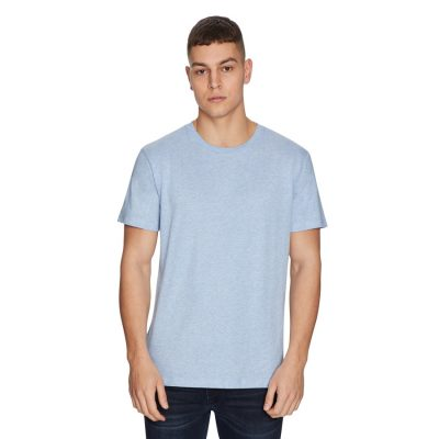 Fashion 4 Men - yd. Relaxed Basic Tee Sky Marle S