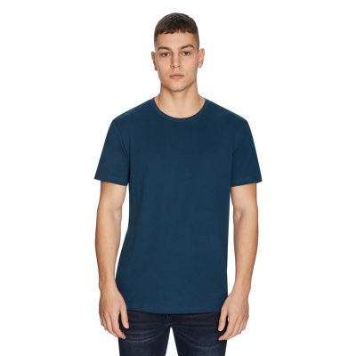 Fashion 4 Men - yd. Relaxed Basic Tee Teal 2 Xs