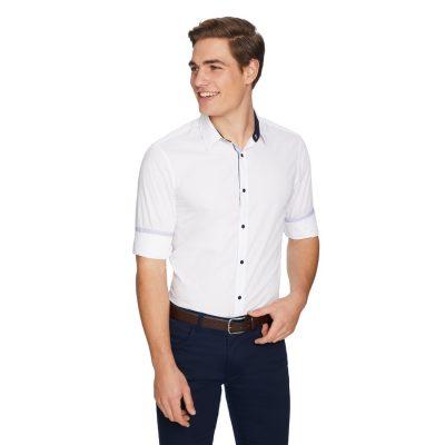 Fashion 4 Men - yd. Ryder Slim Shirt White Xl