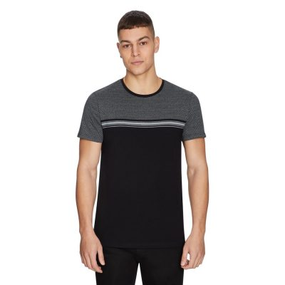 Fashion 4 Men - yd. Spur Tee Black Xl
