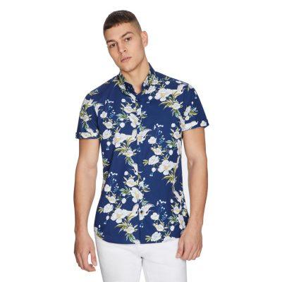 Fashion 4 Men - yd. Steph Shirt Blue Xxl