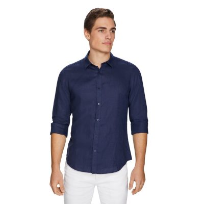 Fashion 4 Men - yd. West Hampton Shirt Dark Blue Xl