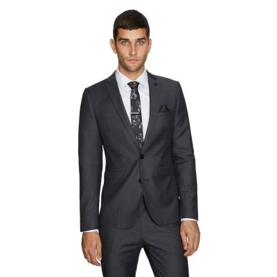 Fashion 4 Men - yd. Alex Skinny Suit Jacket Charcoal 42