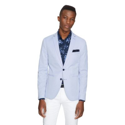 Fashion 4 Men - yd. Apollo Blazer Cornflower L