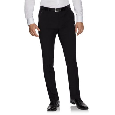 Fashion 4 Men - yd. Aston Skinny Fit Dress Pant Black 40
