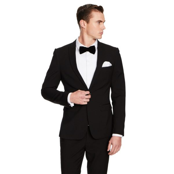 Fashion 4 Men - yd. Aston Slim Fit Suit Jacket Black 46