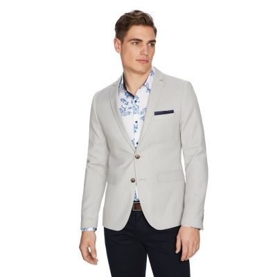 Fashion 4 Men - yd. Becks Blazer Stone M