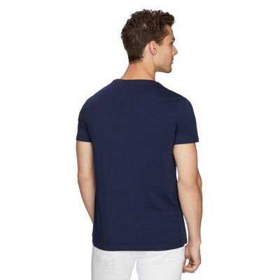 Fashion 4 Men - yd. Burgos Tee Navy Xs