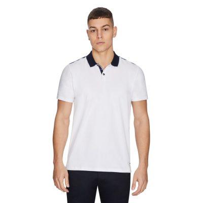 Fashion 4 Men - yd. Captain Polo White Xs