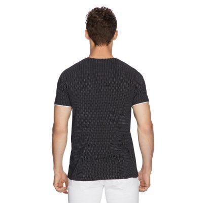 Fashion 4 Men - yd. Coddy Tee Black Xs