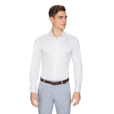 Fashion 4 Men - yd. Eli French Cuff Dress Shirt White S