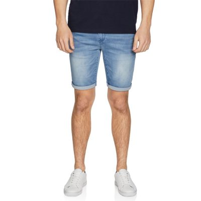Fashion 4 Men - yd. Evans Denim Short Light Blue 36