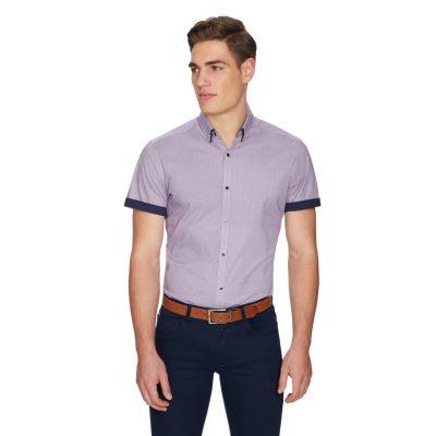 Fashion 4 Men - yd. Griffin Shirt Purple M