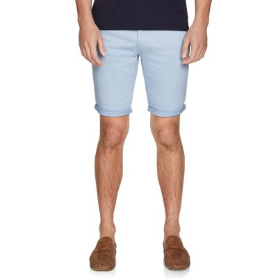 Fashion 4 Men - yd. Herston Chino Short Sky 26