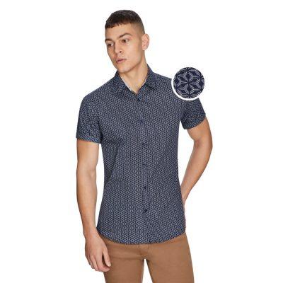 Fashion 4 Men - yd. Lars Shirt Blue Xs