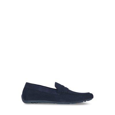 Fashion 4 Men - yd. Maxwell Driving Shoe Dark Blue 10