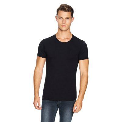 Fashion 4 Men - yd. Muscle Basic Tee Black 3 Xl