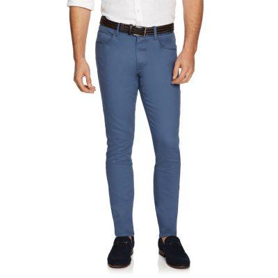 Fashion 4 Men - yd. Nicol Chino Steel Blue 33