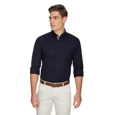 Fashion 4 Men - yd. Ollie Oxford Shirt Dark Blue Xxl