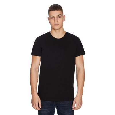 Fashion 4 Men - yd. Premium Cotton Tee Black 2 Xs