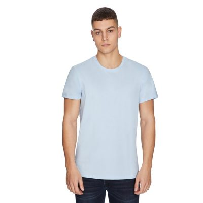 Fashion 4 Men - yd. Premium Cotton Tee Light Blue 2 Xs