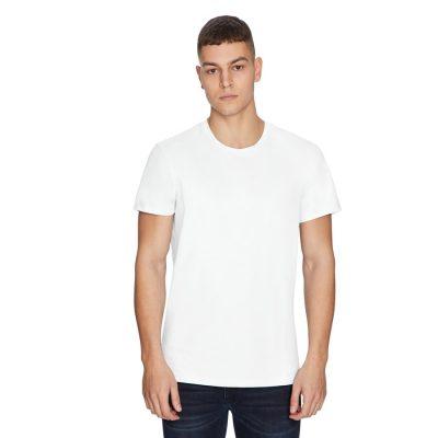 Fashion 4 Men - yd. Premium Cotton Tee White 3 Xl
