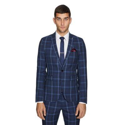 Fashion 4 Men - yd. Taylor Skinny Suit Jacket Blue 44