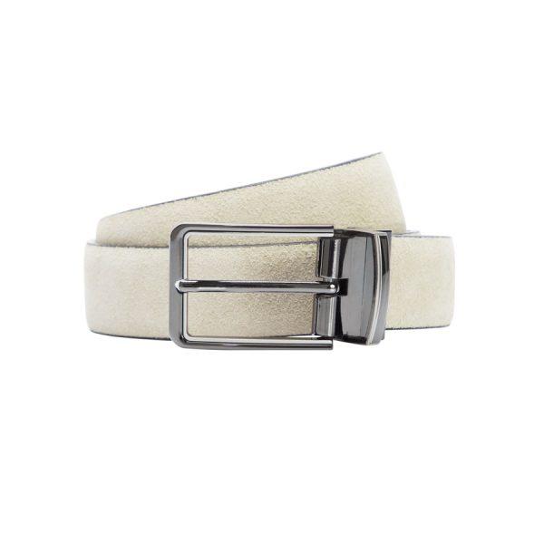Fashion 4 Men - yd. Tuscan Suede Dress Belt Natural 36