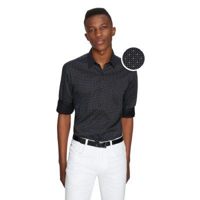 Fashion 4 Men - yd. Vita Slim Fit Shirt Black M