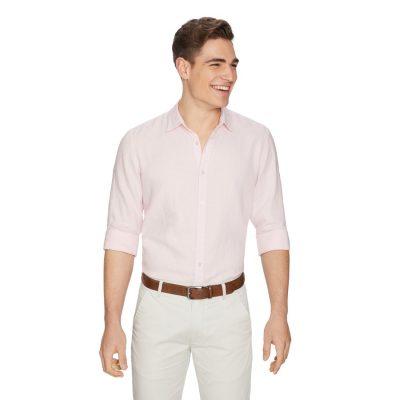 Fashion 4 Men - yd. West Hampton Shirt Pink M