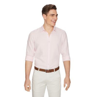 Fashion 4 Men - yd. West Hampton Shirt Pink Xxl