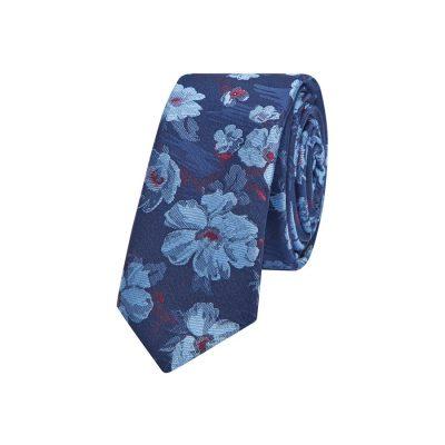 Fashion 4 Men - yd. Zanui Floral 5 Cm Tie Blue One