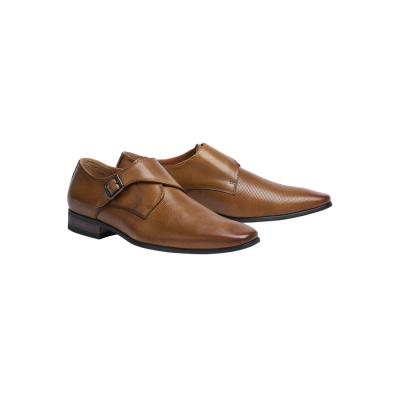 Fashion 4 Men - Tarocash Adrian Textured Dress Shoe Tan 8