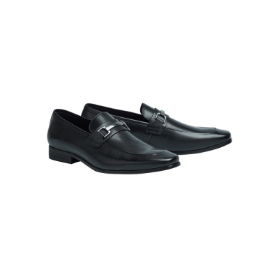 Fashion 4 Men - Tarocash Arc Buckle Dress Loafer Black 10