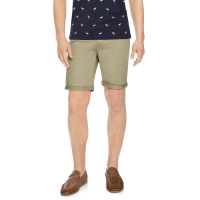 Fashion 4 Men - Tarocash Benji Stretch 5 Pocket Short Sand 36