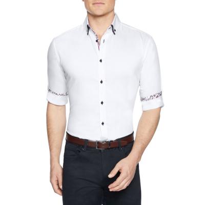 Fashion 4 Men - Tarocash Bradbury Slim Shirt White M