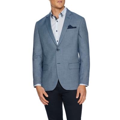 Fashion 4 Men - Tarocash Carter Textured Blazer Blue L