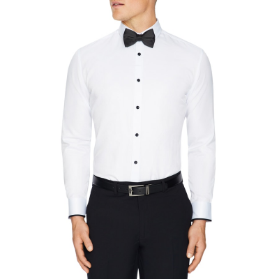 Fashion 4 Men - Tarocash Flint Slim Dress Shirt White S